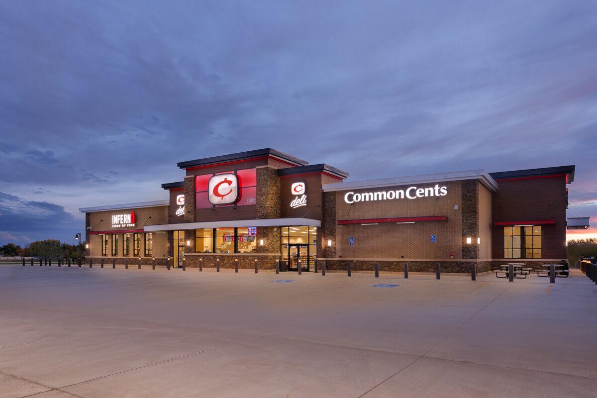 Common Cents Gas Station Restaurant R C S Construction