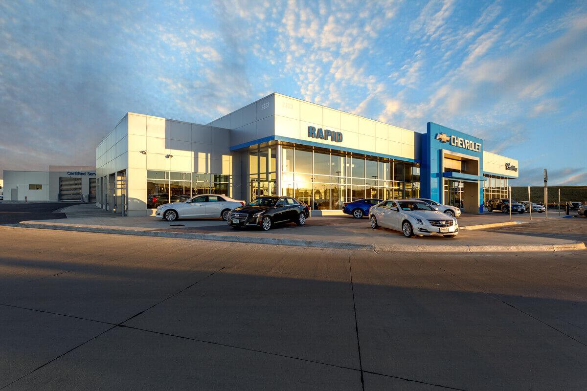 Rapid Chevrolet Cadillac Dealership R C S Construction Inc